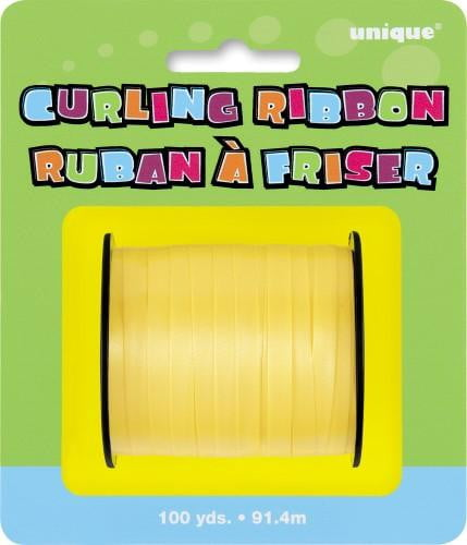 Curling Ribbon-Yellow-POPALOONPARTY