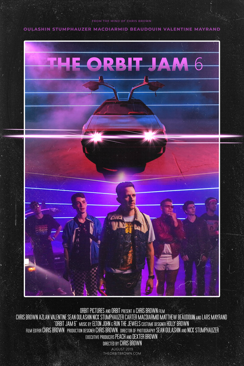 The Orbit Jam 6 Poster