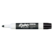 Expo Dry Erase Whiteboard Marker Bullet Tip Black - Box of 12