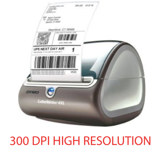 Dymo LabelWriter 4XL Professional 300 DPI Direct Thermal Printer