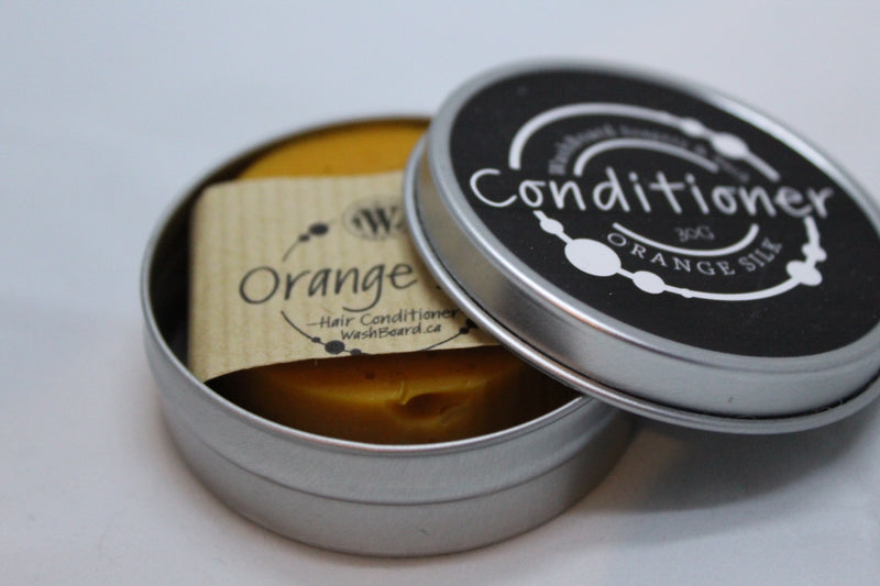 Orange Silk Conditioner in Tin