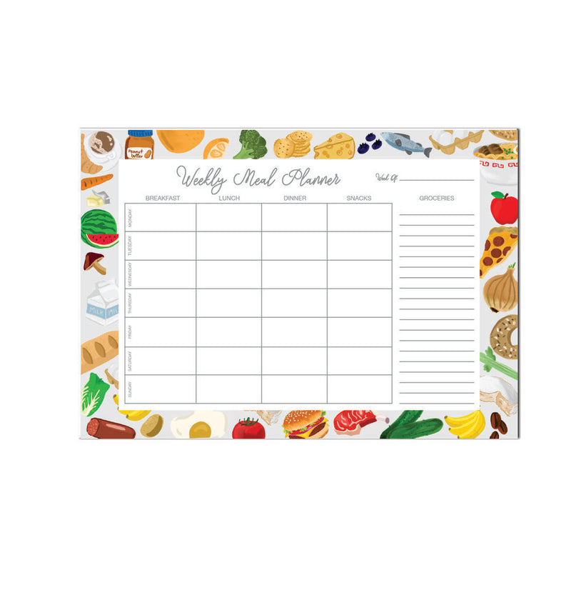 Meal Planner 52 Pages