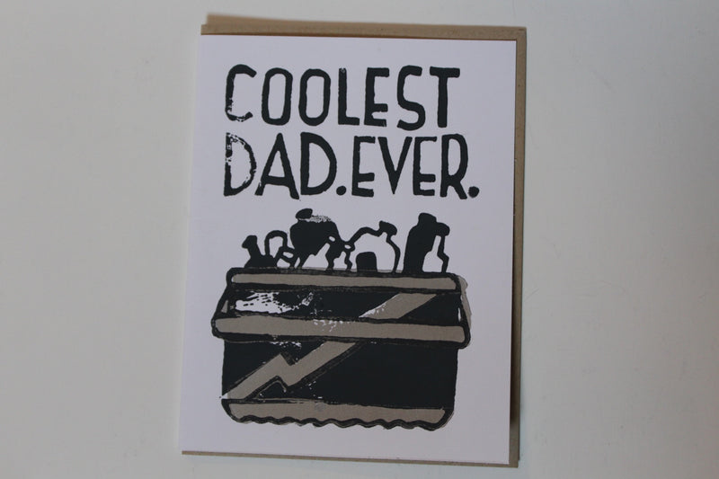 Coolest Dad Ever Card