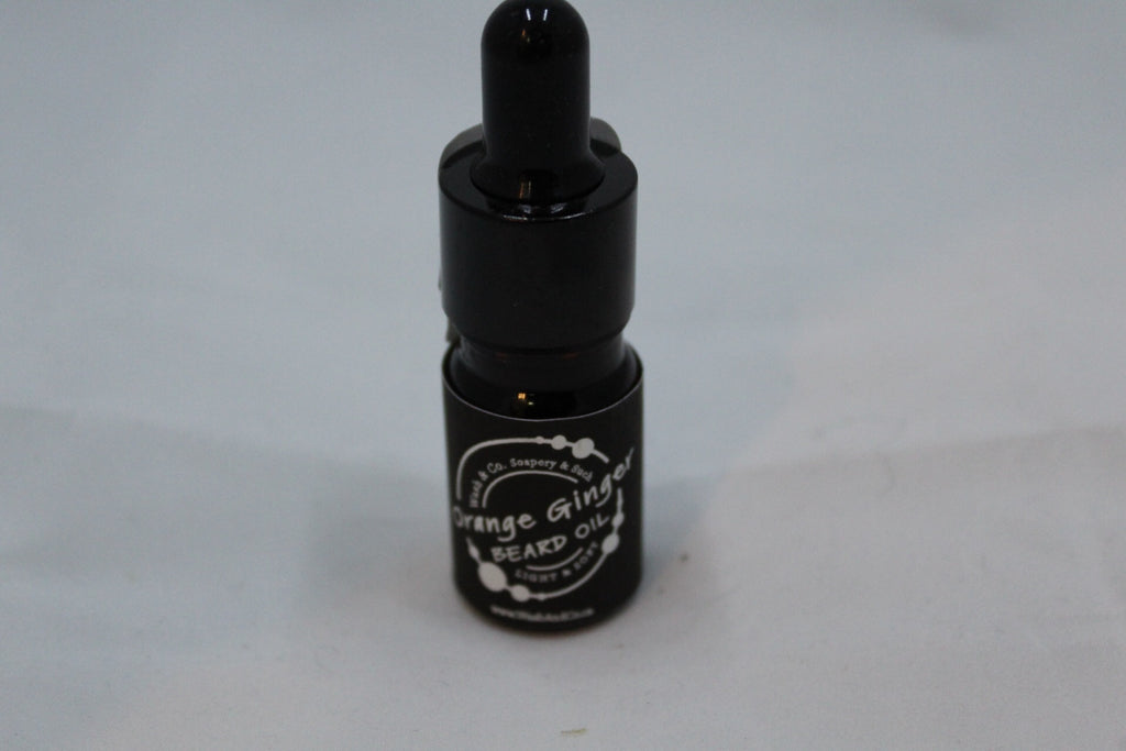 Beard Oil Orange Ginger mini