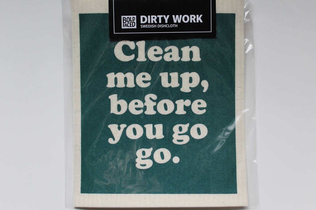 Clean Me Up Swedish Dish Cloth