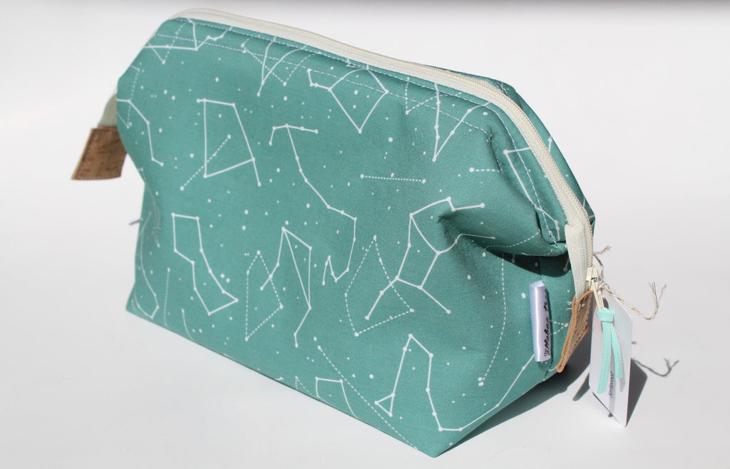 Hinged Toiletry Bag