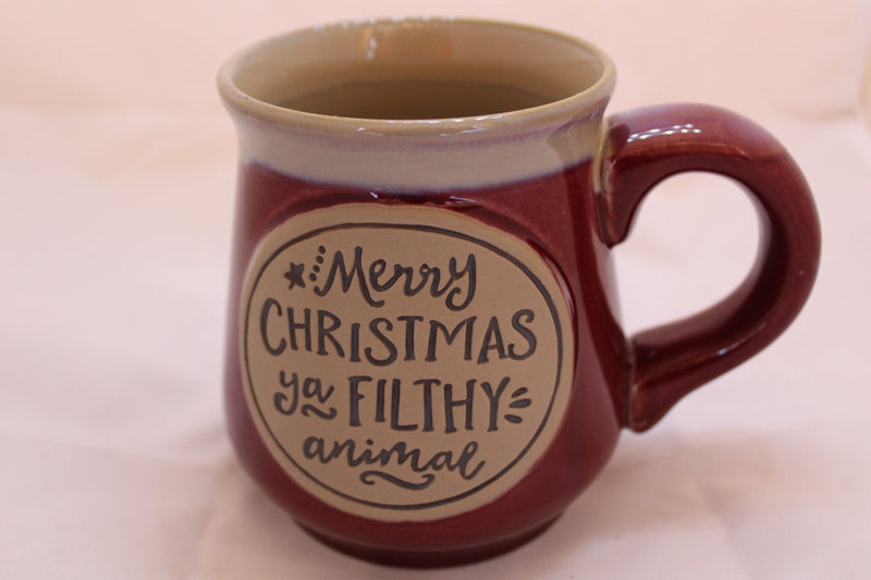 18 Oz Merry Christmas Filthy Mug
