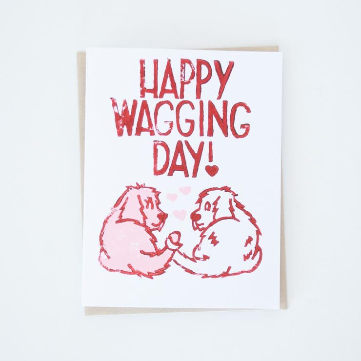 Happy Wagging Day Card