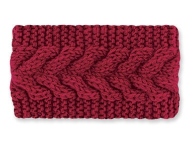 Burgundy Head Warmer