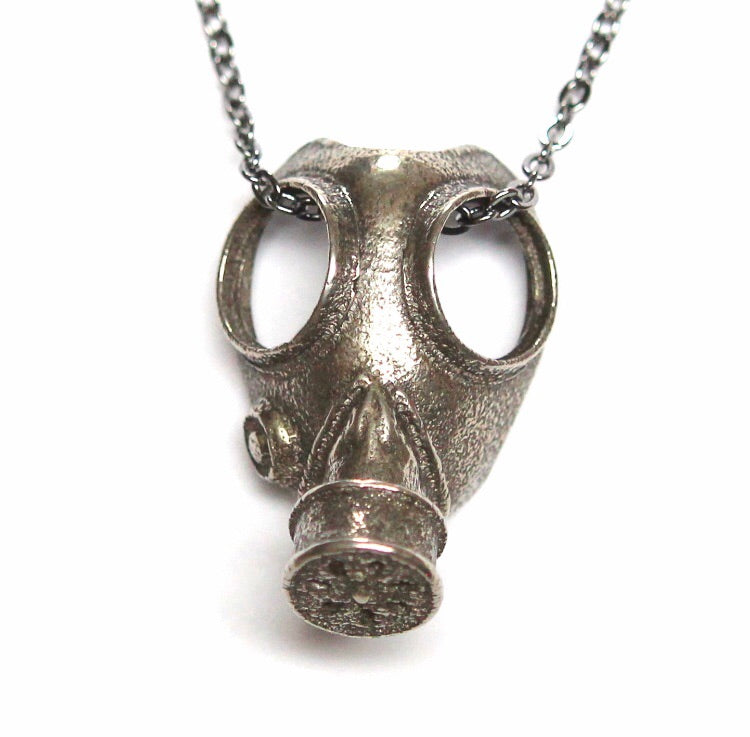 Gas Mask Necklace
