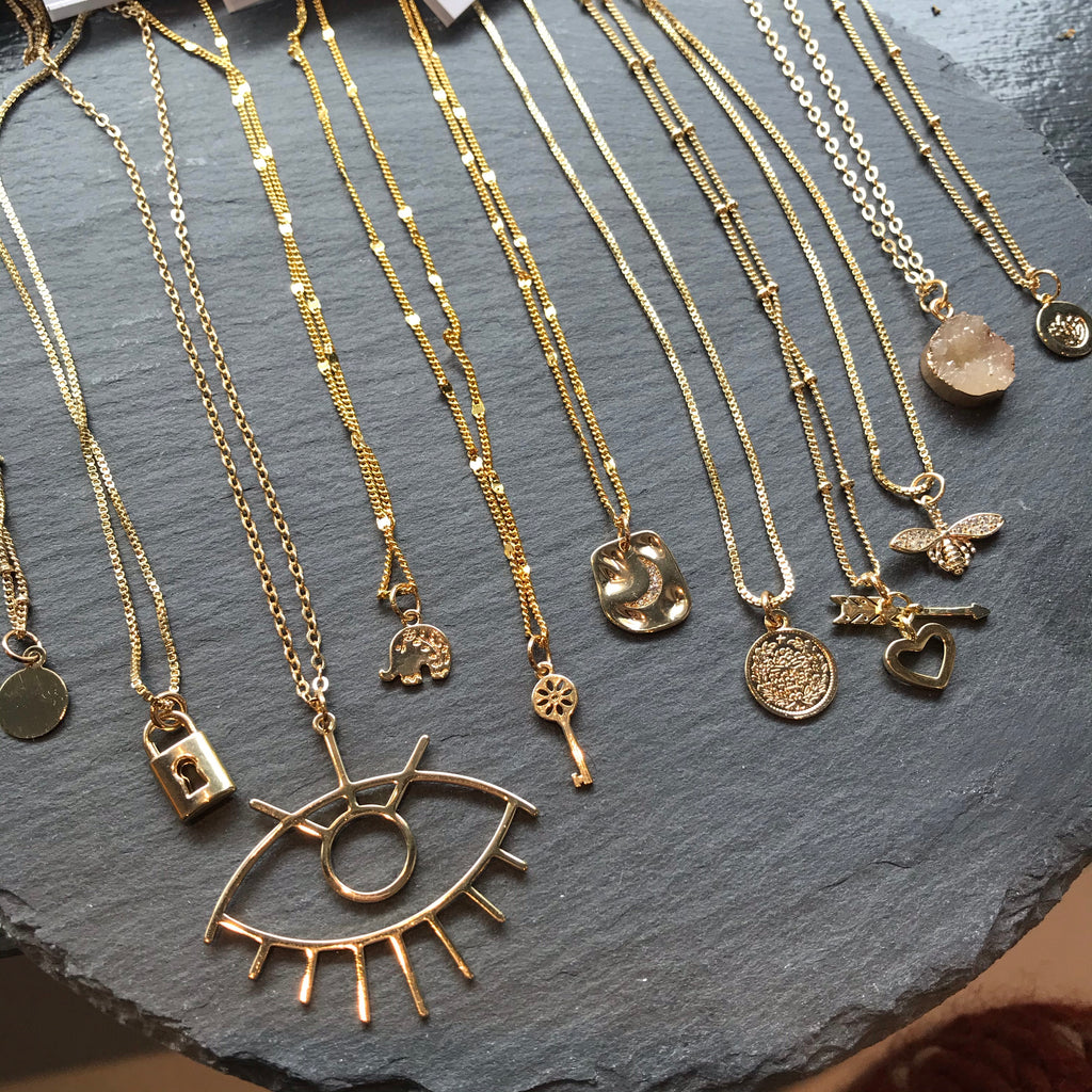Spring 2021 Necklace Collection AH Designs