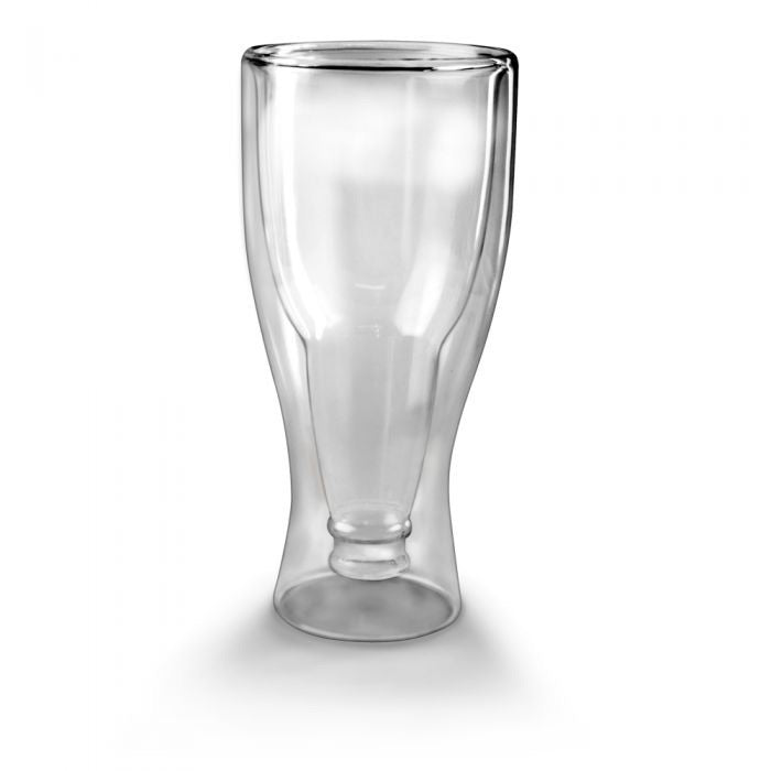 Hop Side Down Beer Glass