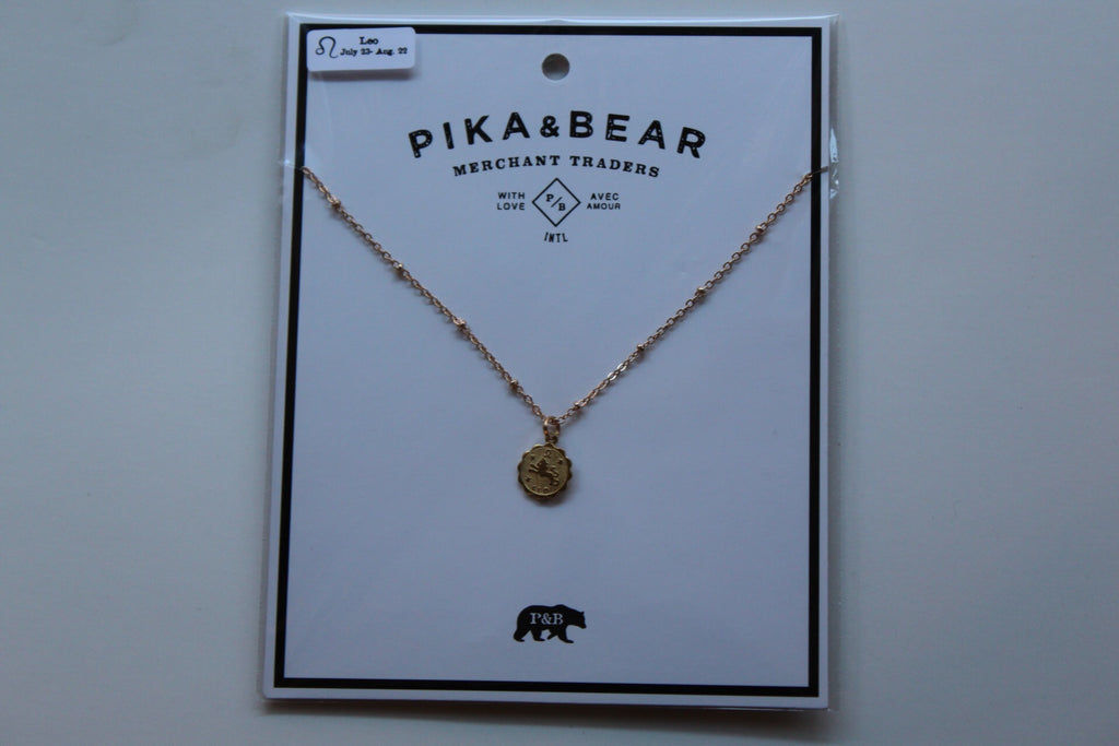 Leo necklace