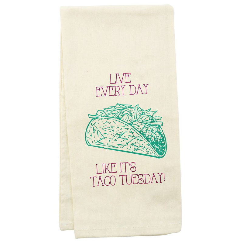 Tea Towel Taco