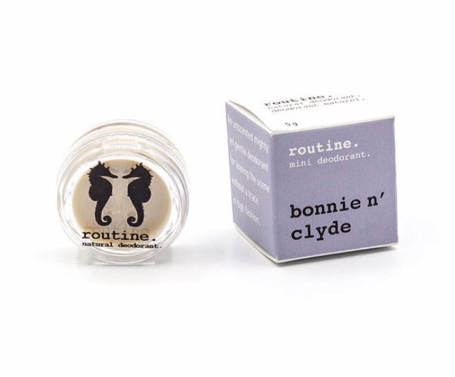 Mini Bonnie N Clyde Natural Deodorant