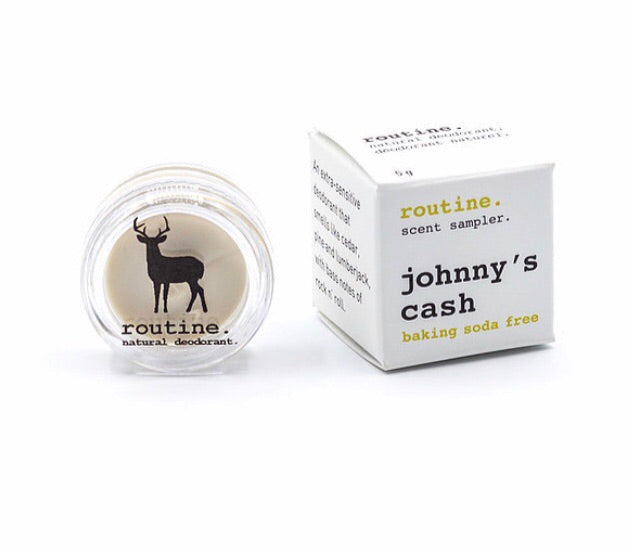 Mini Johnny Cash Natural Deodorant
