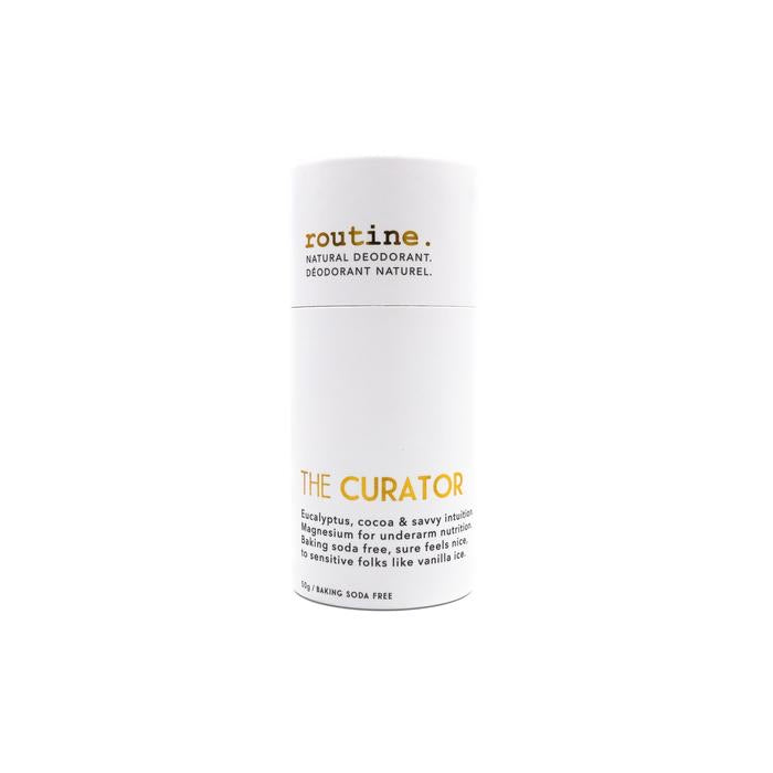 The Curator Natural Deodorant Stick