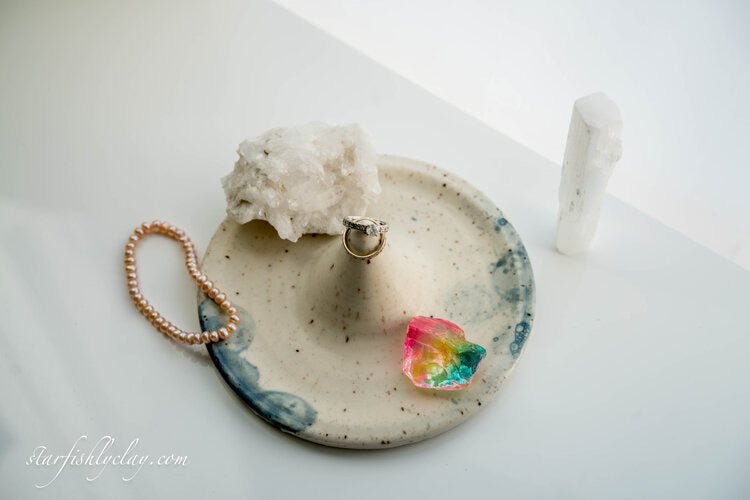 Sea Foam Ring Holders
