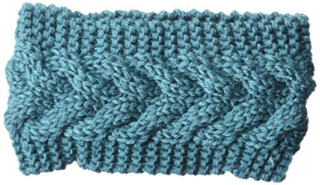 Teal Cable Head Warmer