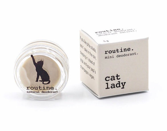 Mini Cat Lady Natural Deodorant