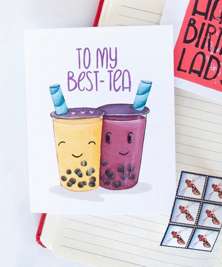To My Best-Tea Card