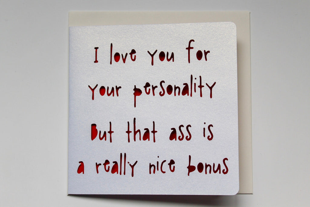 Love Personality Card