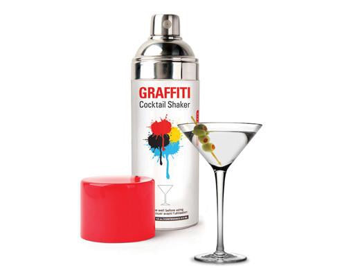 Spray Can Cocktail Shaker
