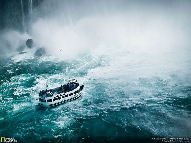 Niagara Falls, Maid of the Mist Print