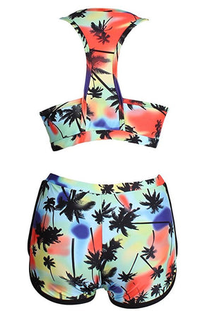 Coconut Tree Bikini - Two Piece, S-XL