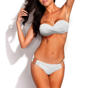 Bikini Swimsuit Pure - Two Piece, S-L
