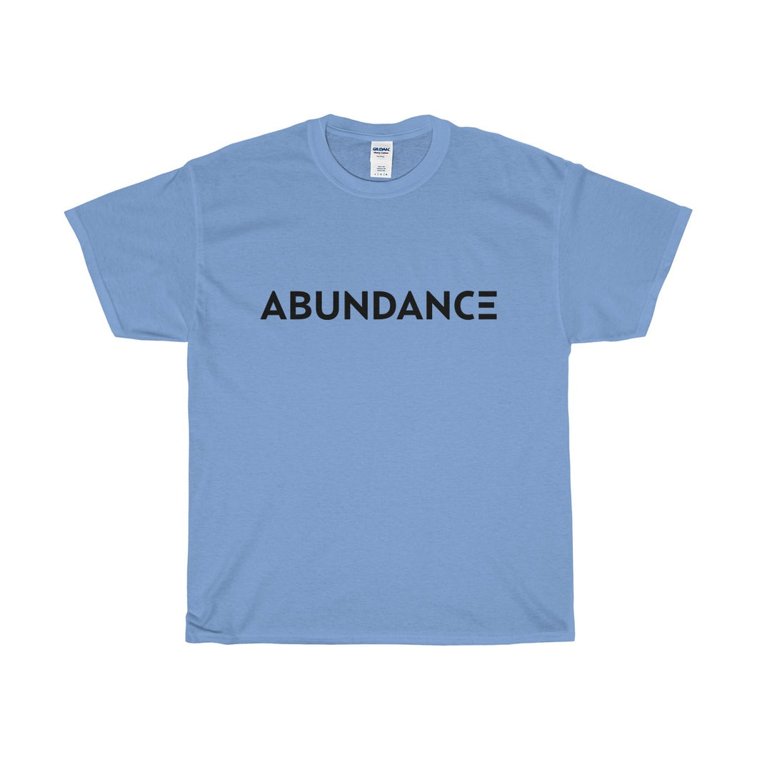 ABUNDANCE Positive Affirmations Cotton Tee