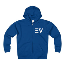 Early Vibes Unisex Fleece Zip Hoodie - White Lettering