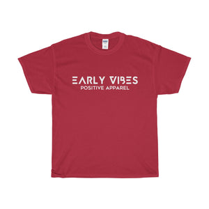 Early Vibes Cotton Tee - White Lettering