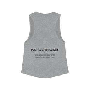 Happiness Flowy Muscle Tank