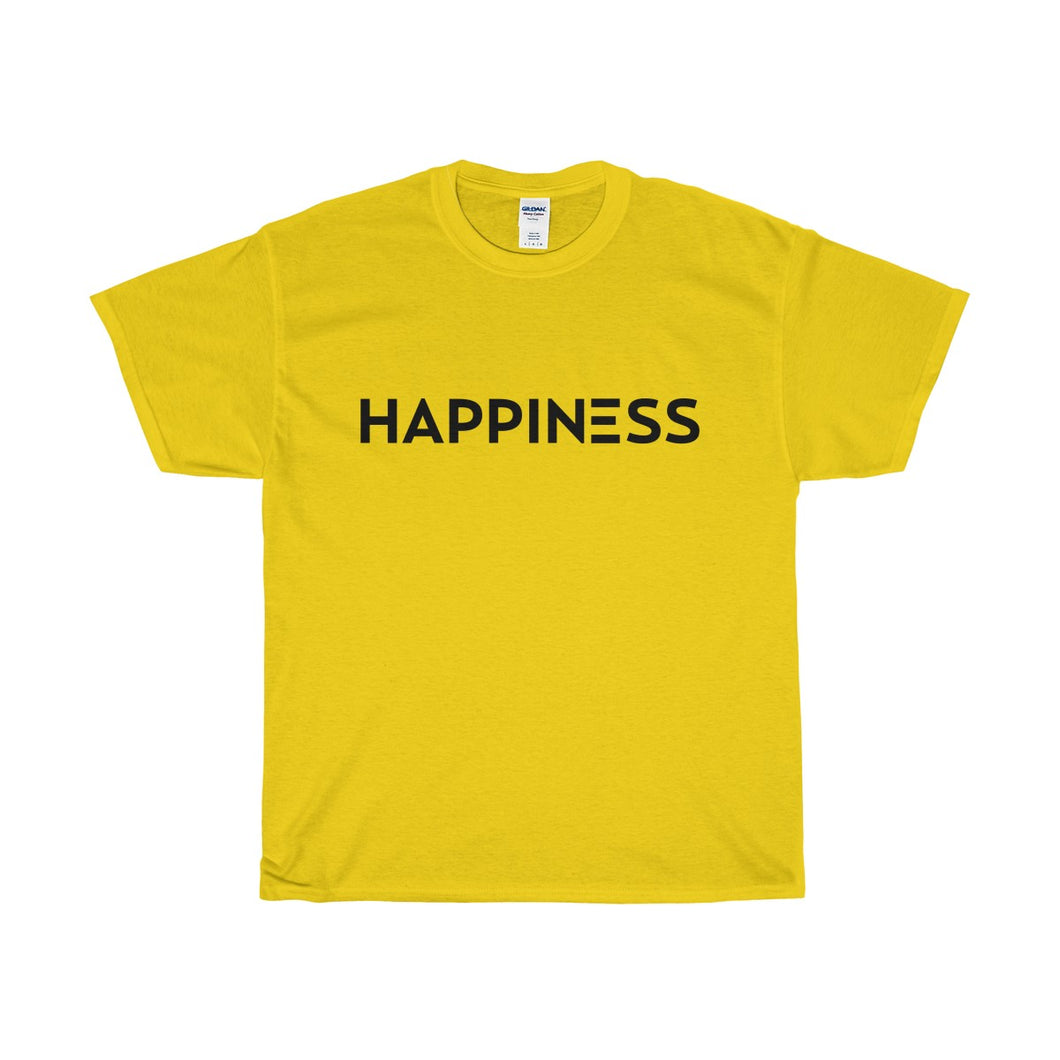 HAPPINESS Cotton Tee
