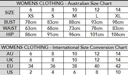 Shoe Size Conversion Chart Us To Australian