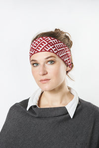 Headband with Latvian Ornaments