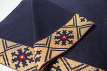 "Poncho ""Spīdola"" with Latvian Ornament"