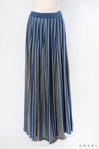 Striped Long Skirt