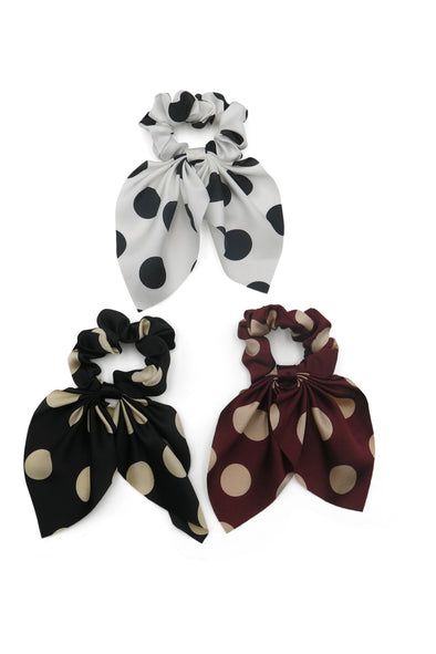 Gretchen Scrunchie Set with Short Tails