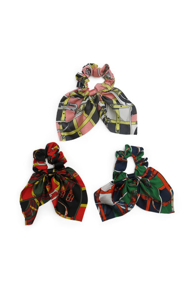 Josie Scrunchie Set with Short Tails