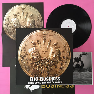 Big Business - Here Come The Waterworks LP (Hydra Head, 2007)
