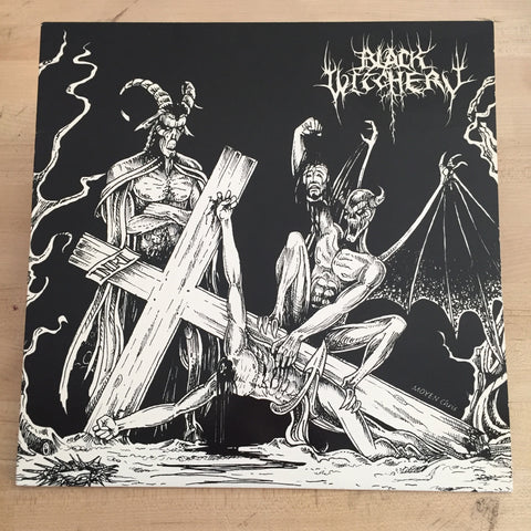 Black Witchery - Desecration of the Holy Kingdom LP