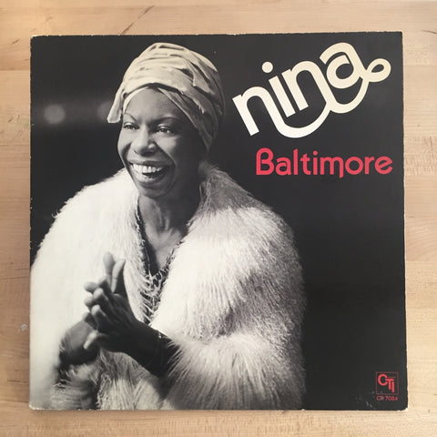 Nina Simone - Baltimore LP