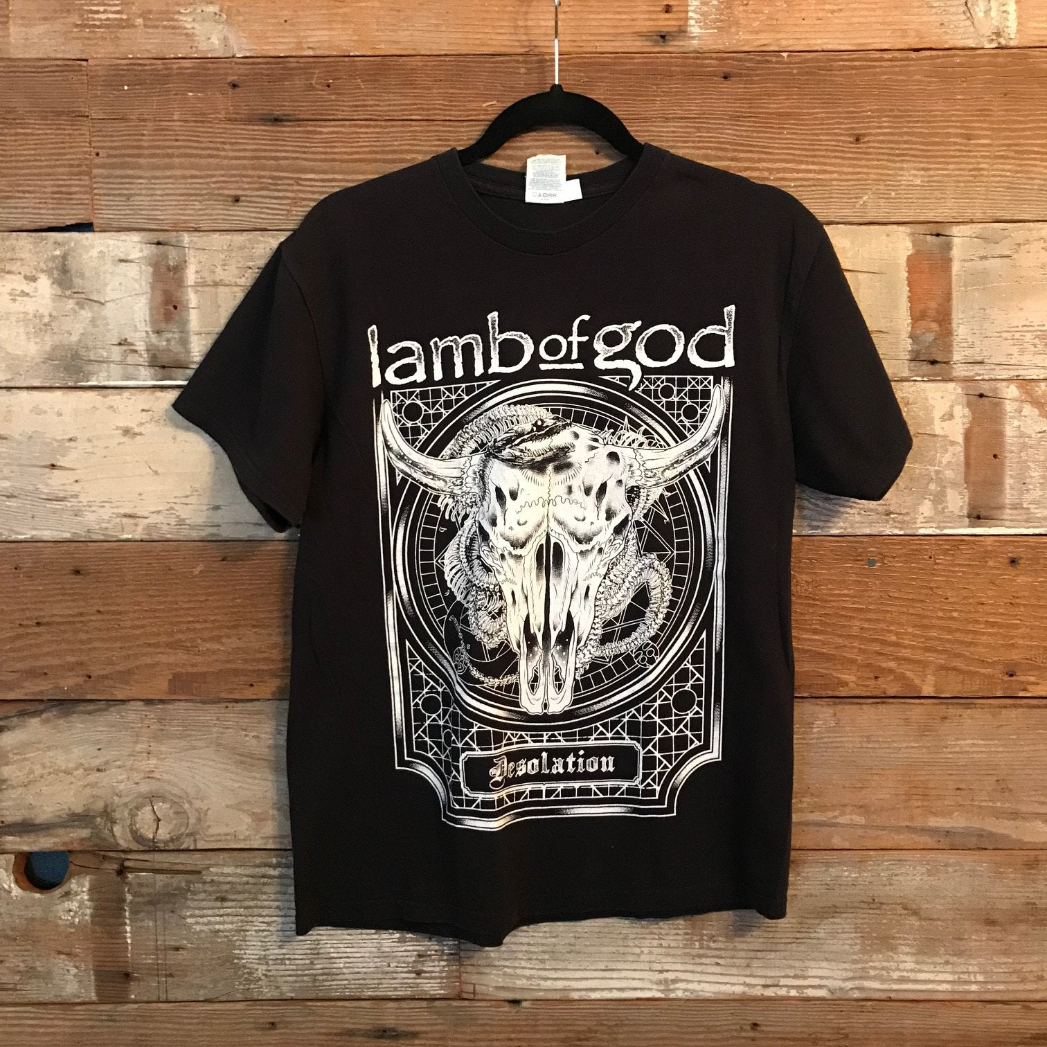 LAMB OF GOD - Desolation T-shirt (M)