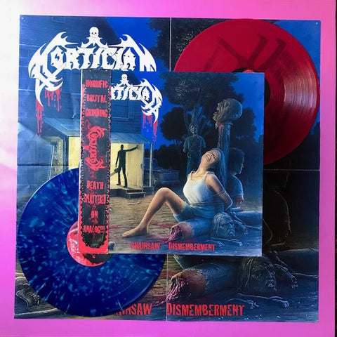 Mortician - Chainsaw Dismemberment 2xLP (Hell's Headbangers, 2013)