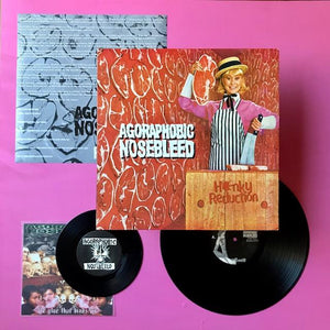 Agoraphobic Nosebleed - Honky Reduction LP (Regurgitated Semen, 2006)