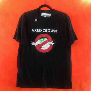 Axed Crown - Headless Ghostbuster T-shirt (L)