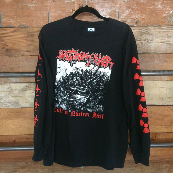 BLASPHEMOPHAGHER - Cult of Nuclear Hell Long Sleeve Shirt (M)