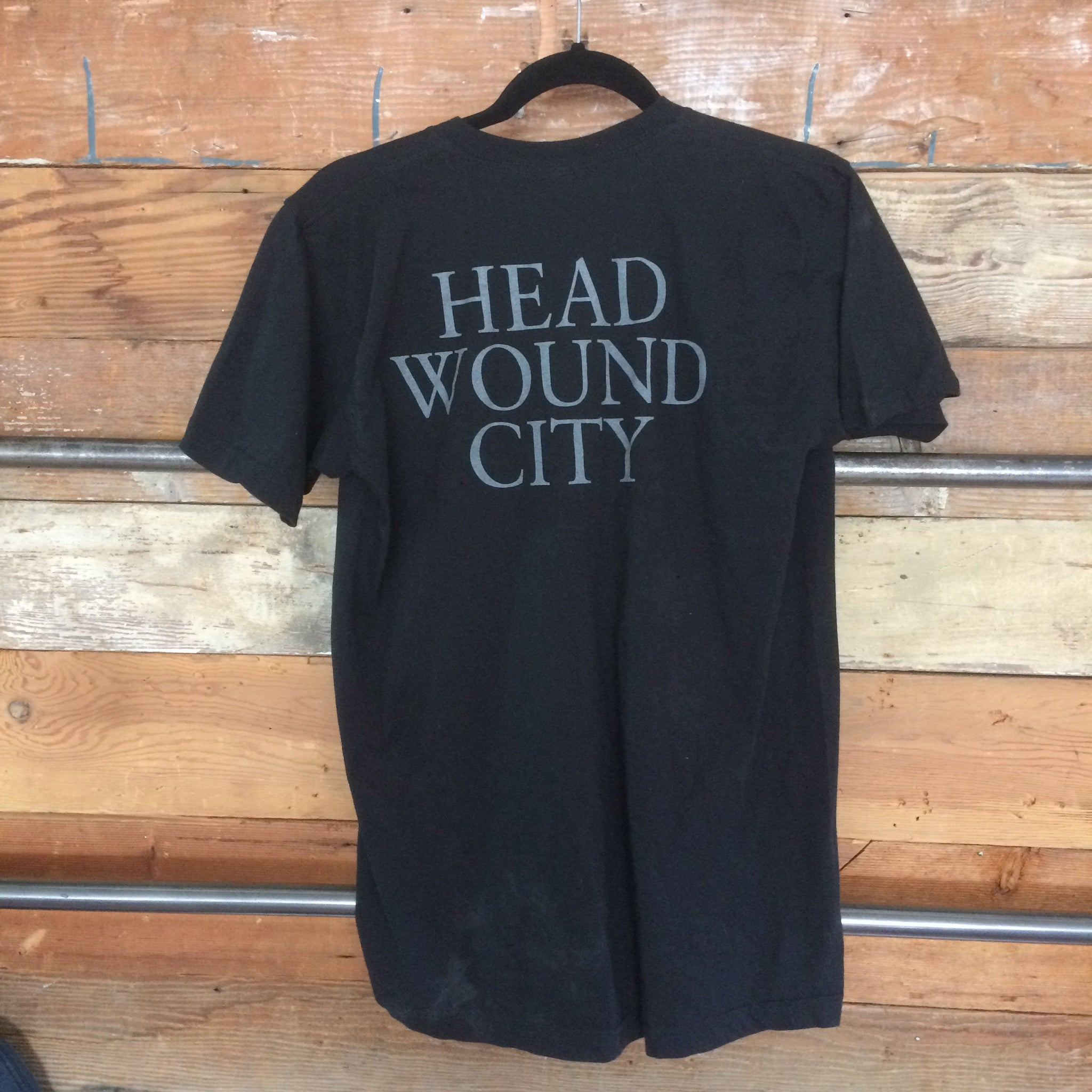 HEAD WOUND CITY - Painted Face T-shirt (L)